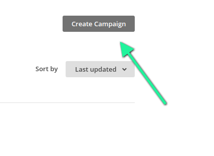 Step 2 - Click Create Campaign