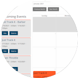 Booking Events has never been easier