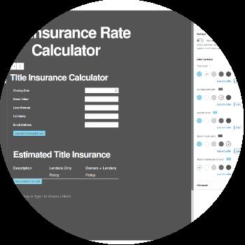 Rate Calculator WordPress plugin